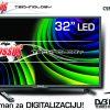 """T2 led tv 32"""" CSS-10100b Colossus"""