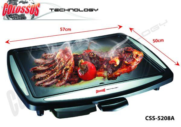 Električna grill ploča CSS-5208a Colossus