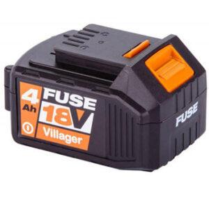 VILLAGER Baterija FUSE 18V 4.0AH